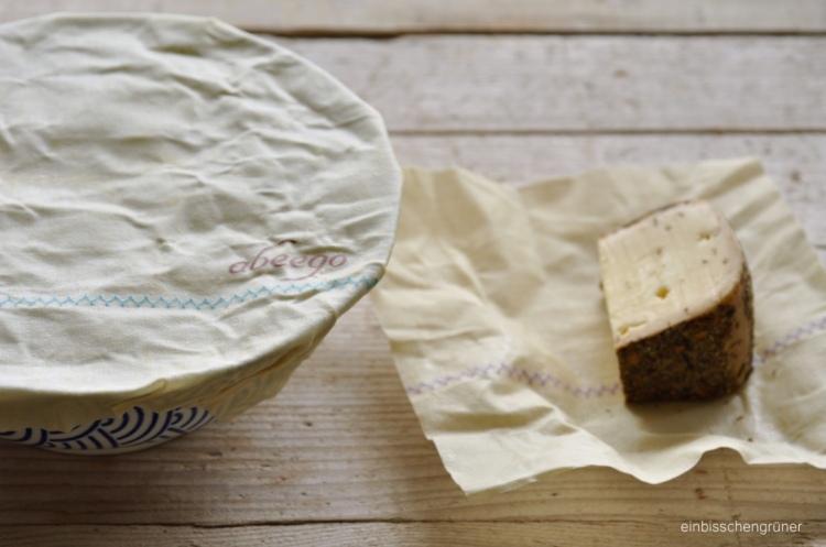 Foodwrap von Abeego statt Frischhaltefolie: plastikfrei, natürlich, kompostierbar