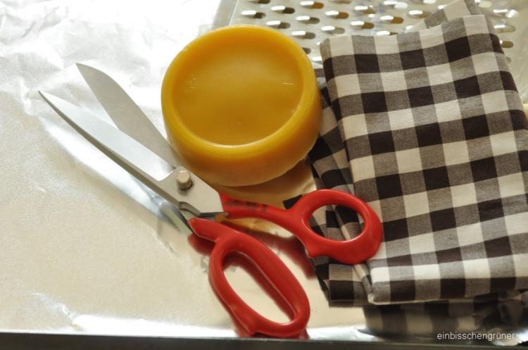 DIY Frischhaltetuch
