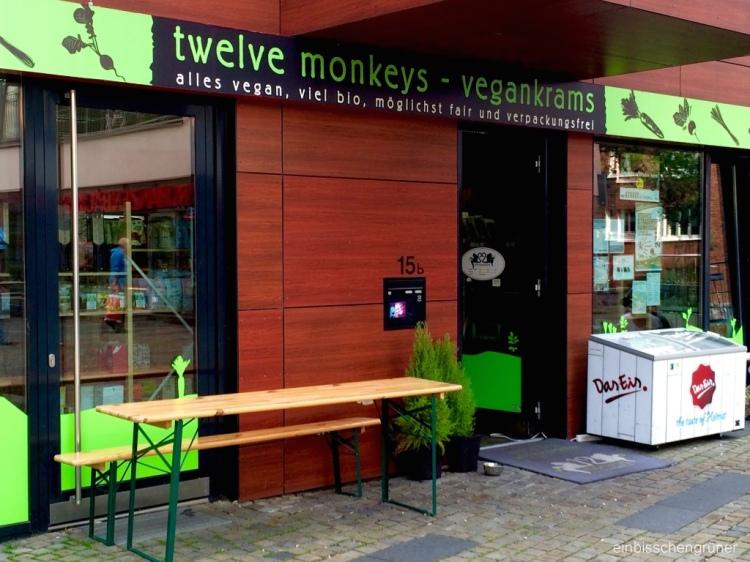 twelve monkeys - vegankrams verpackungsfrei in Hamburg
