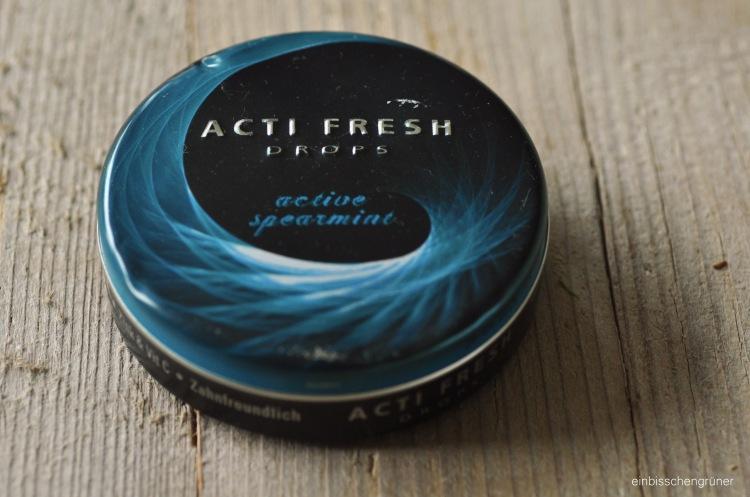 Plastikfreie Kaugummialternativen: Acti Fresh Drops