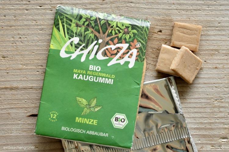 Plastikfreie Kaugummialternativen: Chicza Regenwald Kaugummi