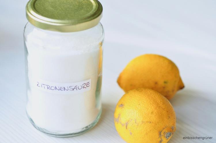 DIY Waschmaschinenreiniger aus Zitronensäure
