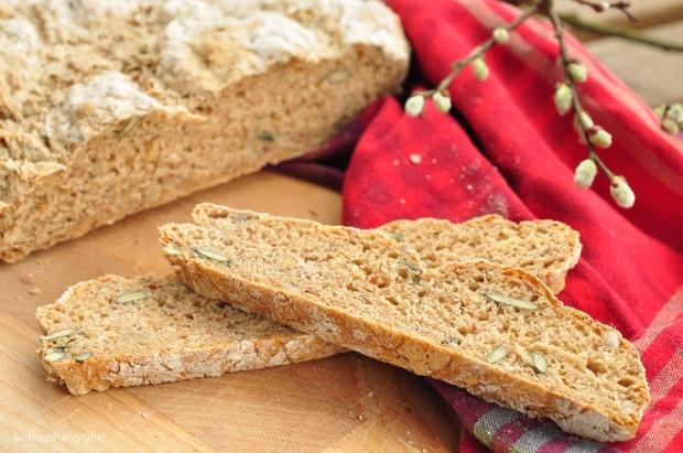 5 Minuten Brot ohne Kneten