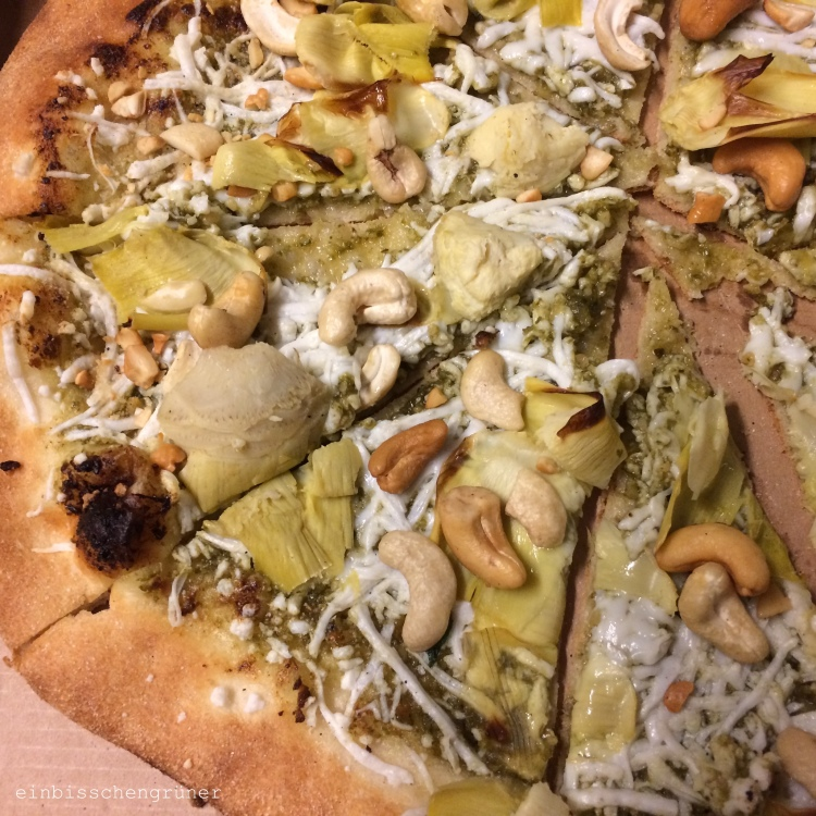 Lux vegane Pizza