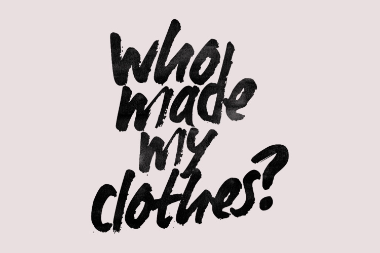 Fashion Revolution Week, credit: Fashion Revolution