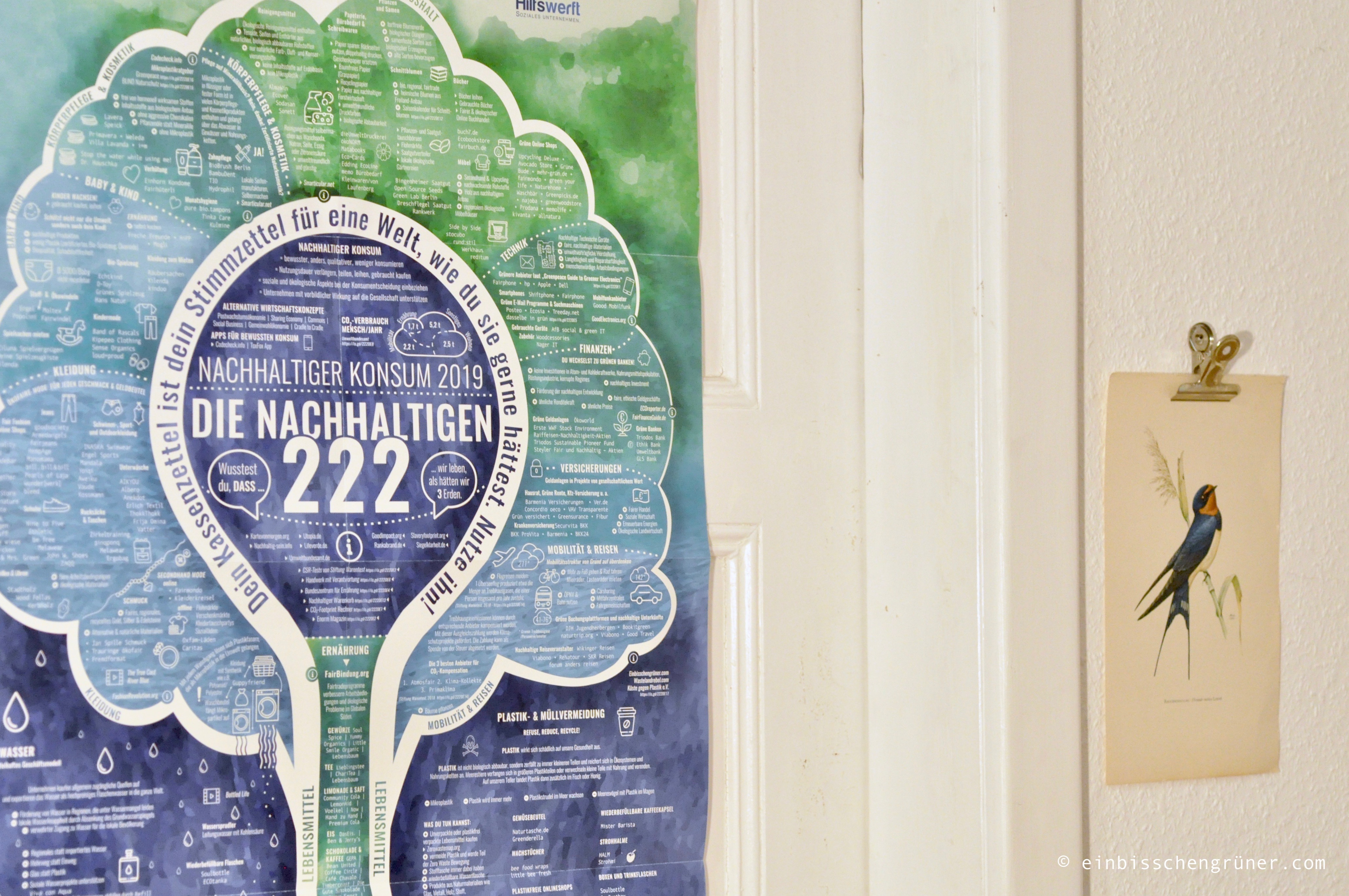 Poster zu Nachhaltigem Konsum