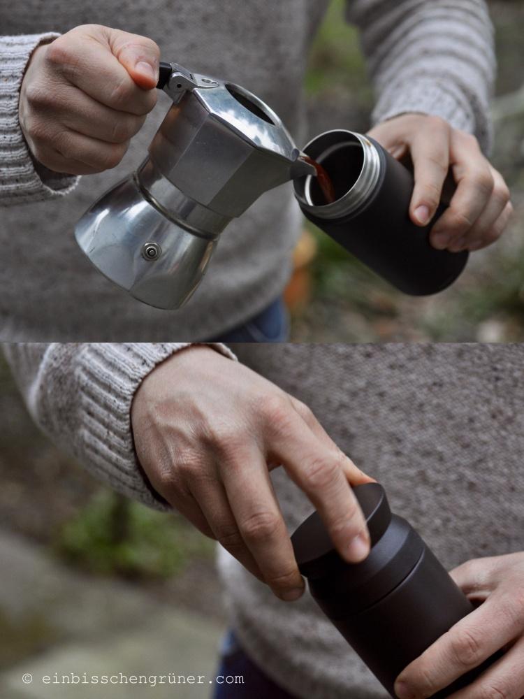 Kinto Thermobecher für nachhaltigen Coffee to go