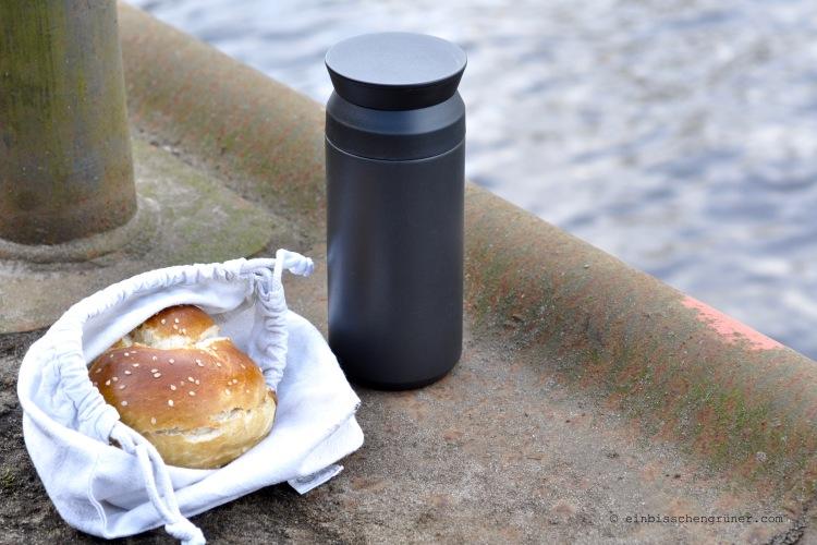Nachhaltiger Coffee to go Becher